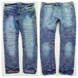 New Men's ROBIN'S JEAN sz 40 Slim Straight Jeans